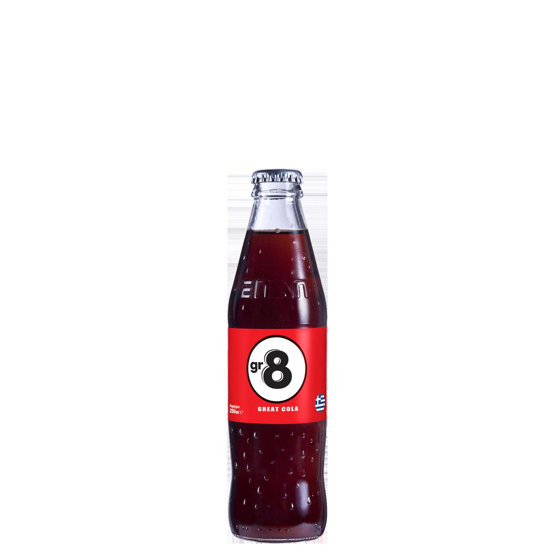 GR8 - 250ml - Glass Bottle
