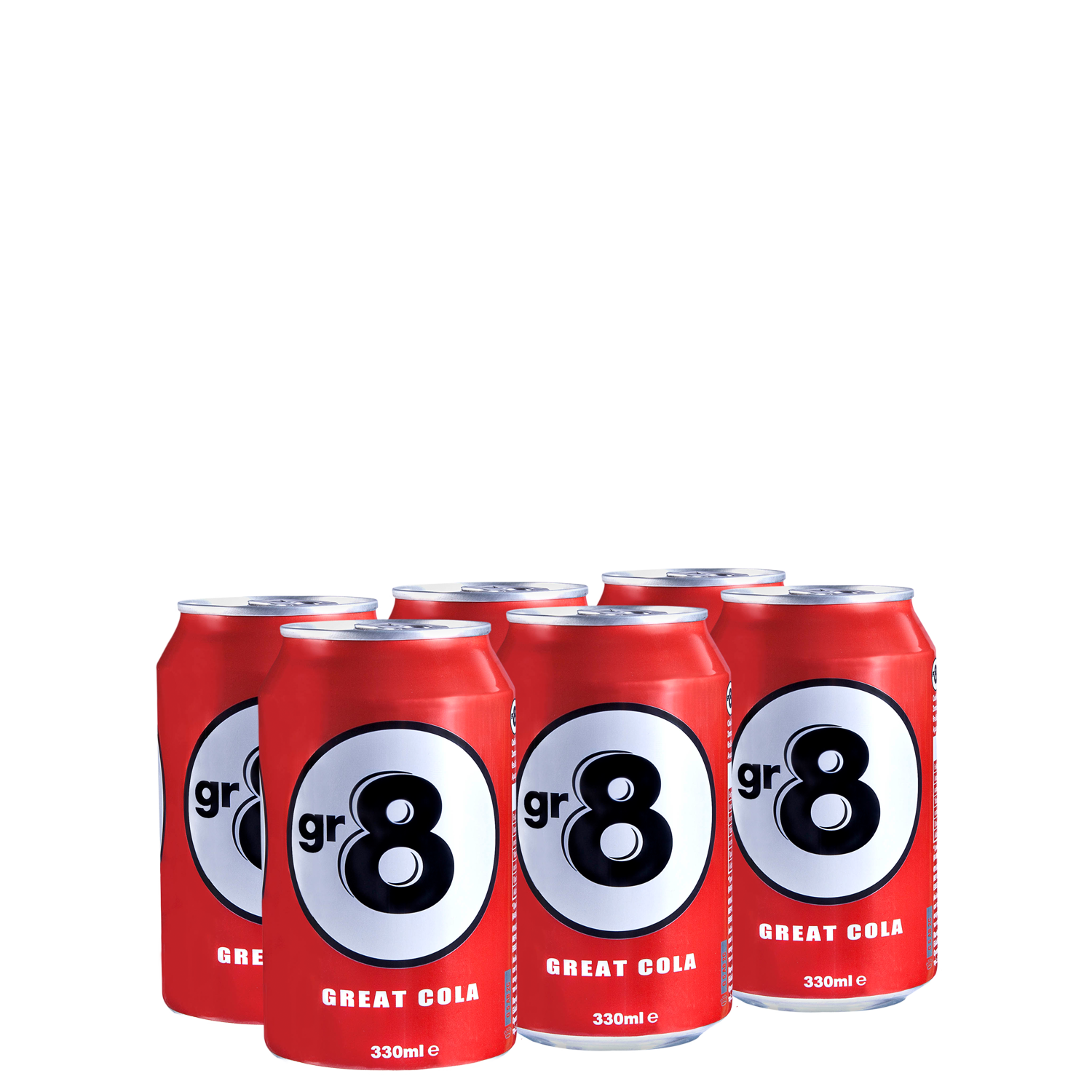 GR8 - Multi Pack - (6x330ml cans)