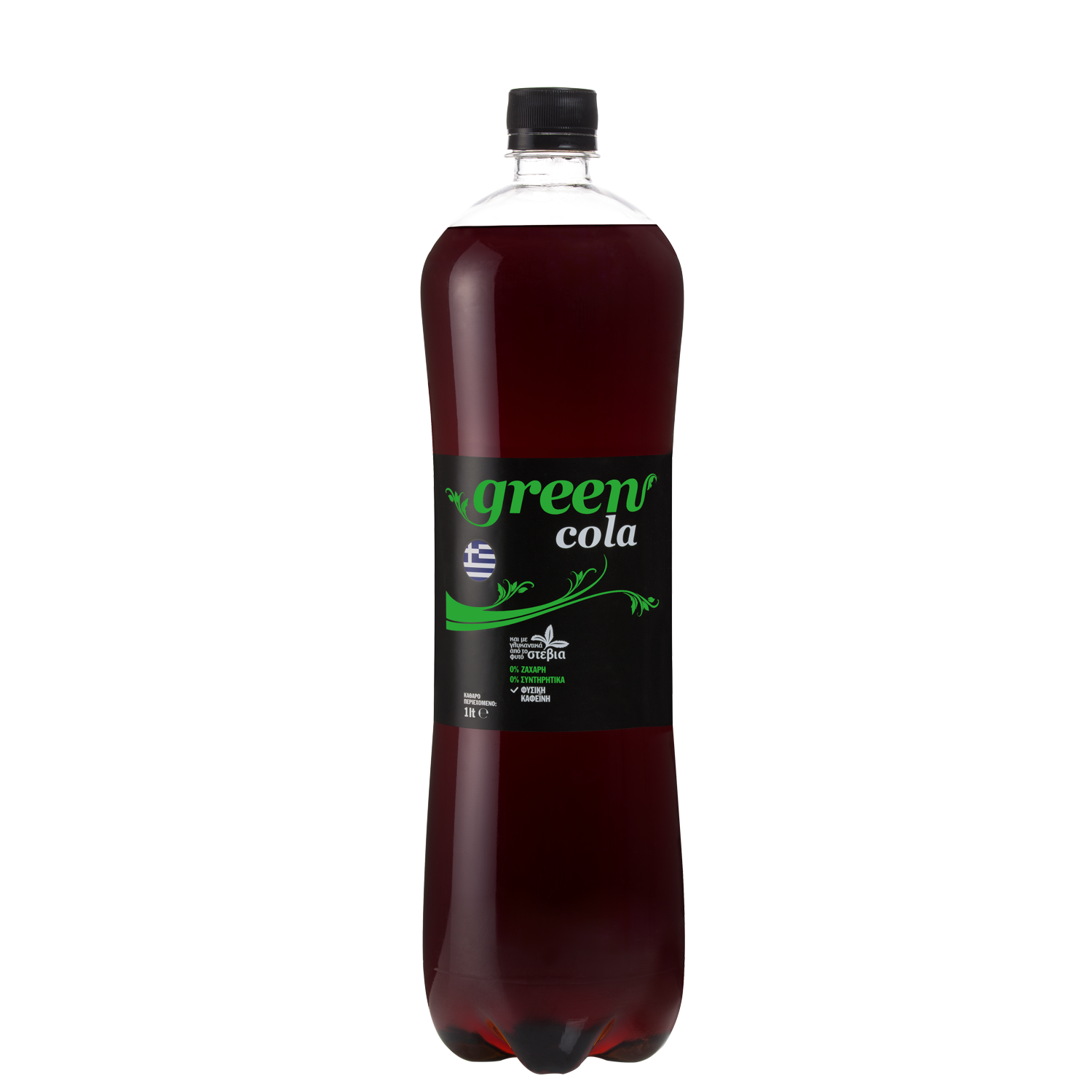 Green Cola - PET 1lt - Bottle