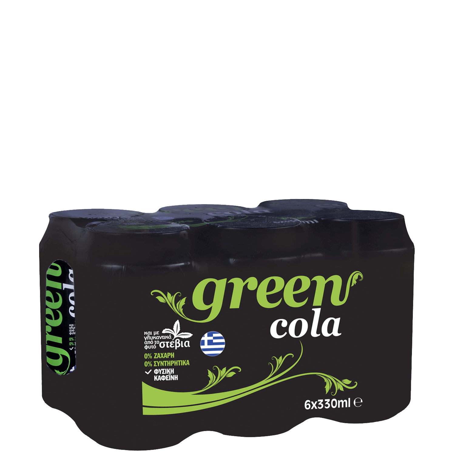 Green Cola - Multi-pack - (6x330ml cans)