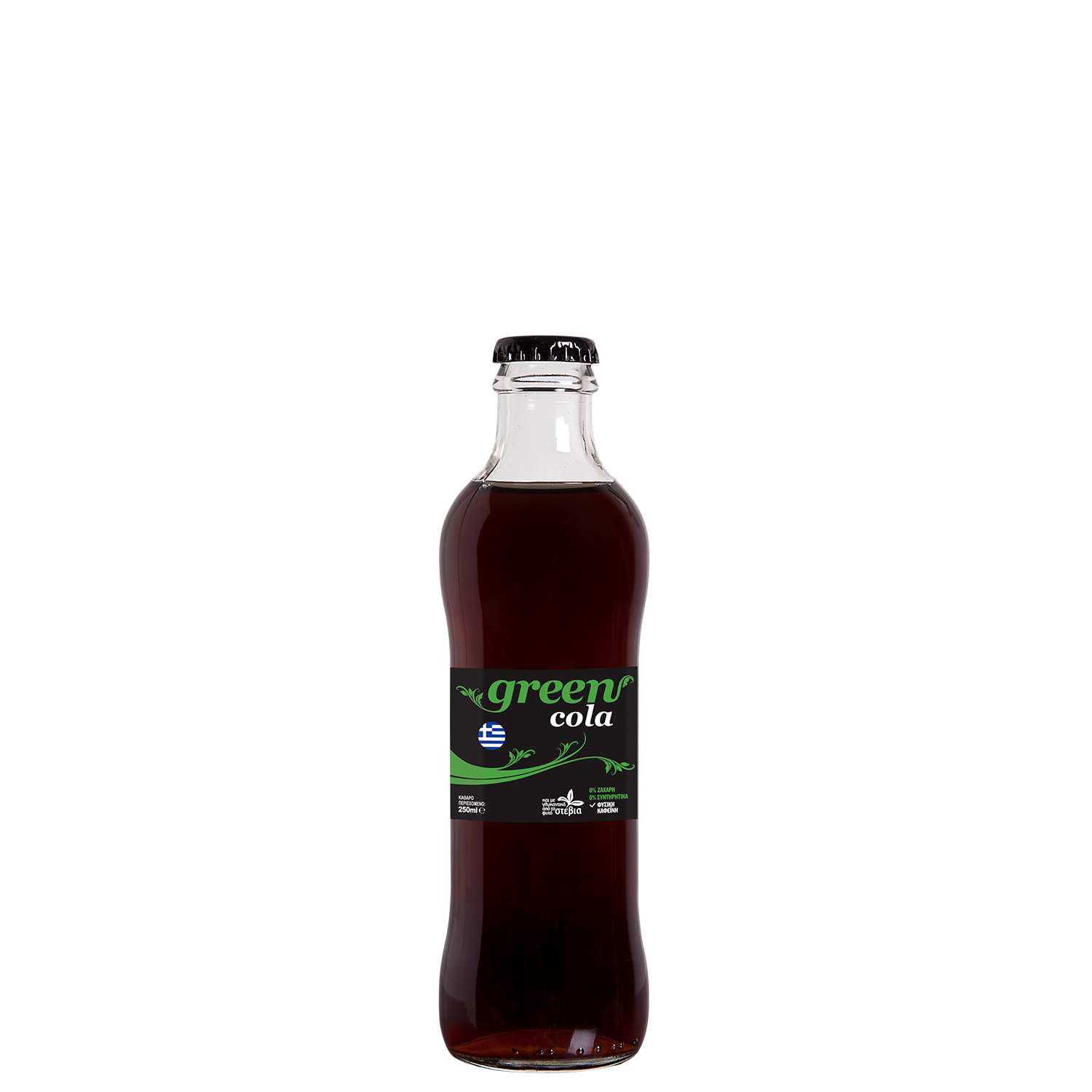 Green Cola - 250ml - glass bottle