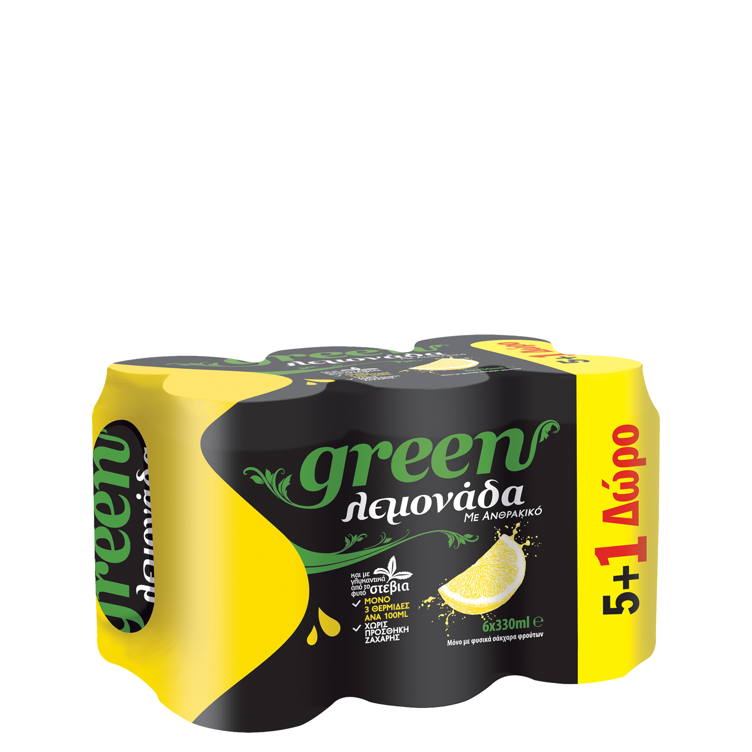 Green Lemon - Multi Pack - (6x330ml cans)