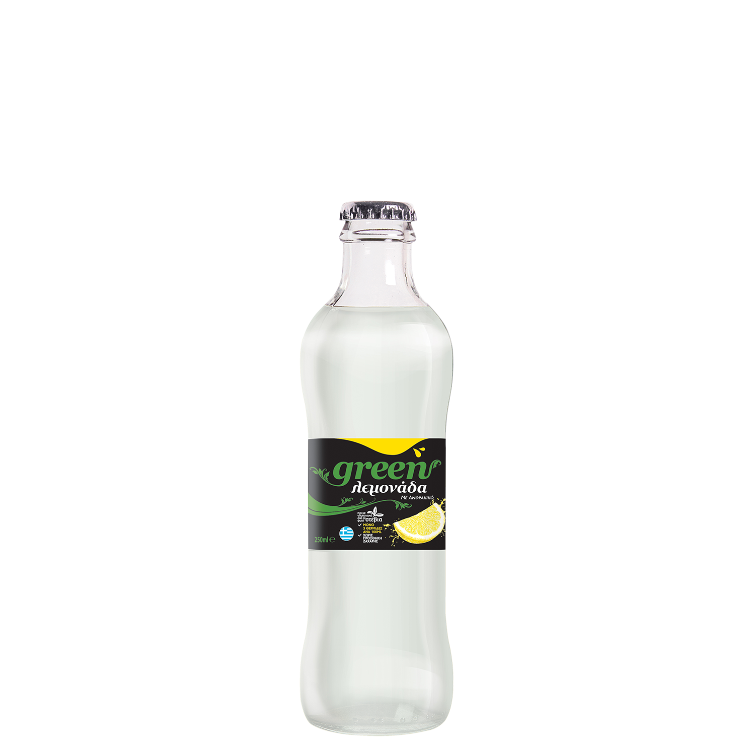 Green Lemon - 250ml - Glass bottle