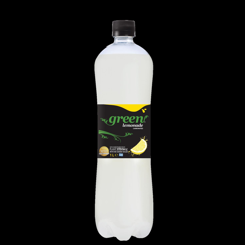 Green Lemon - PET - 1lt Bottle
