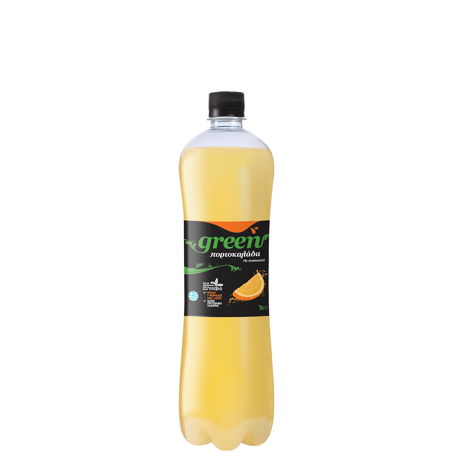 Green Orange - PET - 1lt Bottle