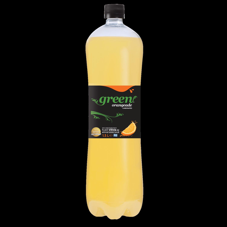 Green Orange - PET - 1.5ml Bottle