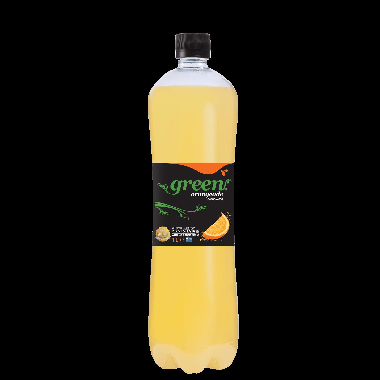 Green Orange - PET - 1lt Bottle