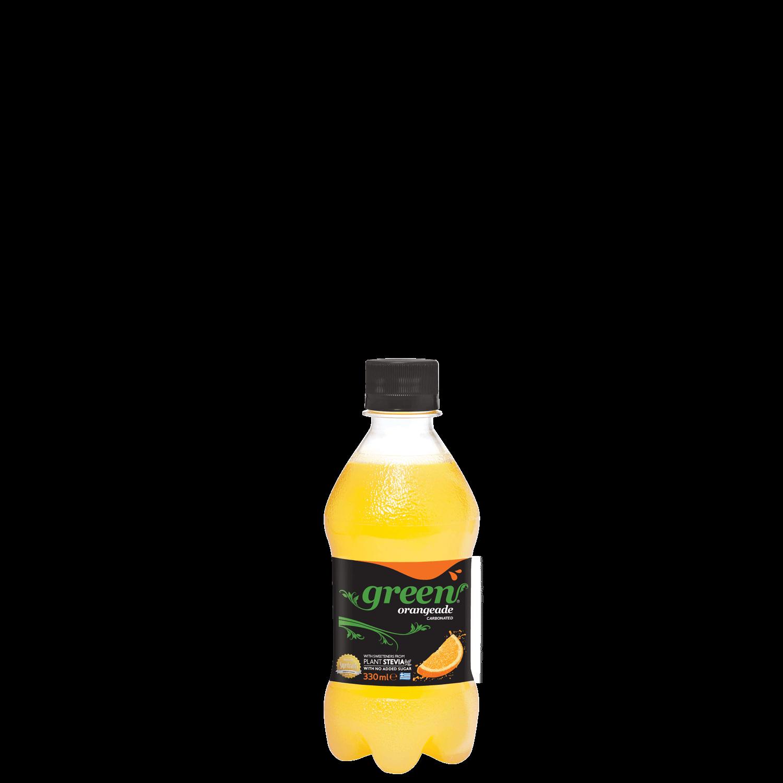 Green Orange - PET - 330ml Bottle