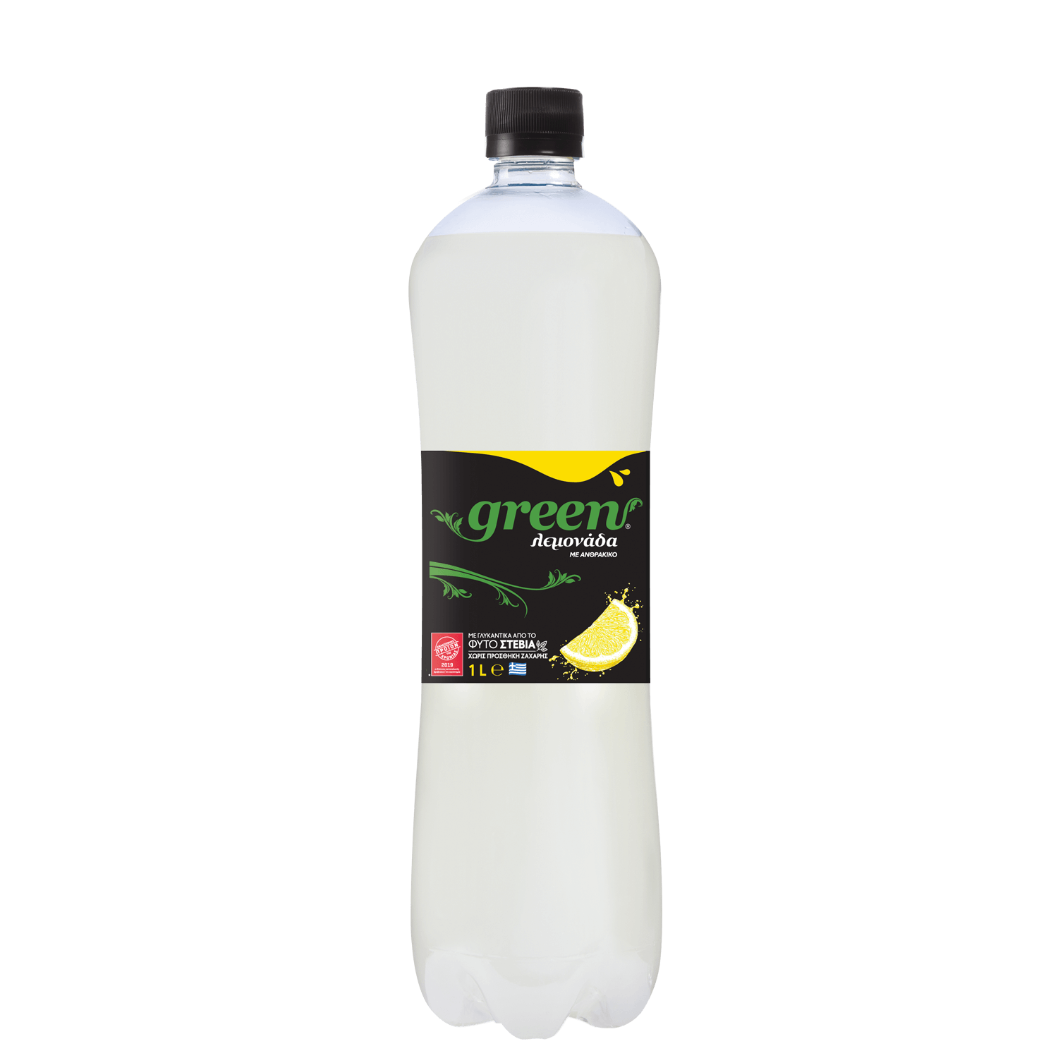 Green Lemon - PET - 1lt Bottle
