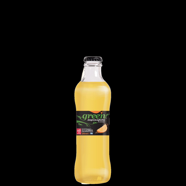 Green Orange - 250ml - Glass Bottle