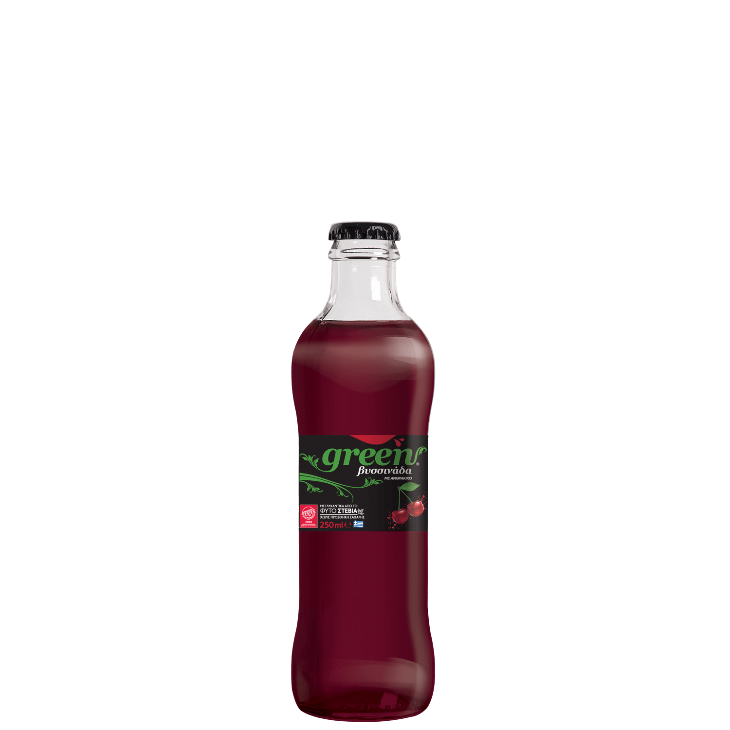Green Cherry - 250ml - Glass Bottle