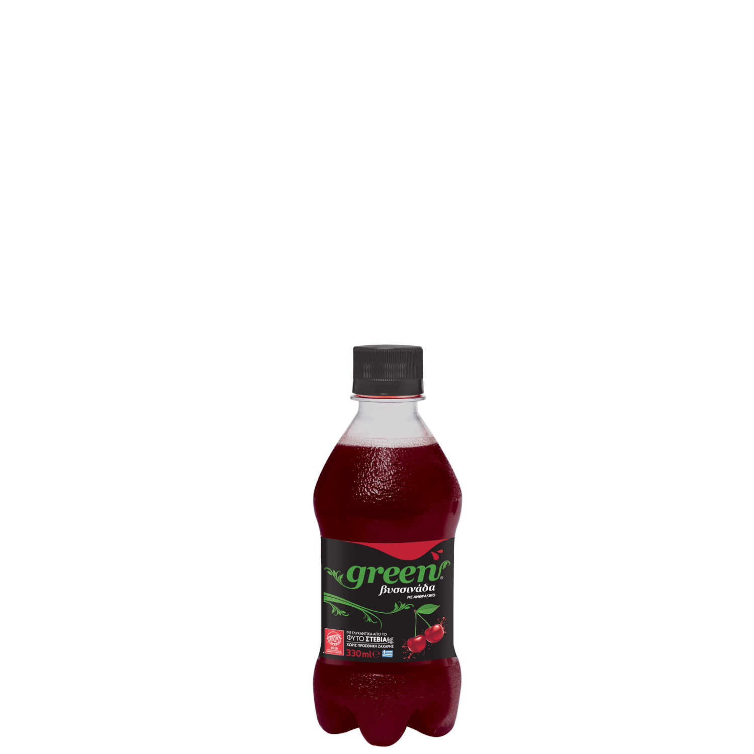 Green Cherry - PET - 330ml Bottle
