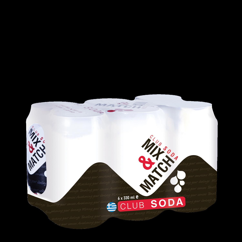 Mix Match Soda - Multi Pack - (6x330ml cans)