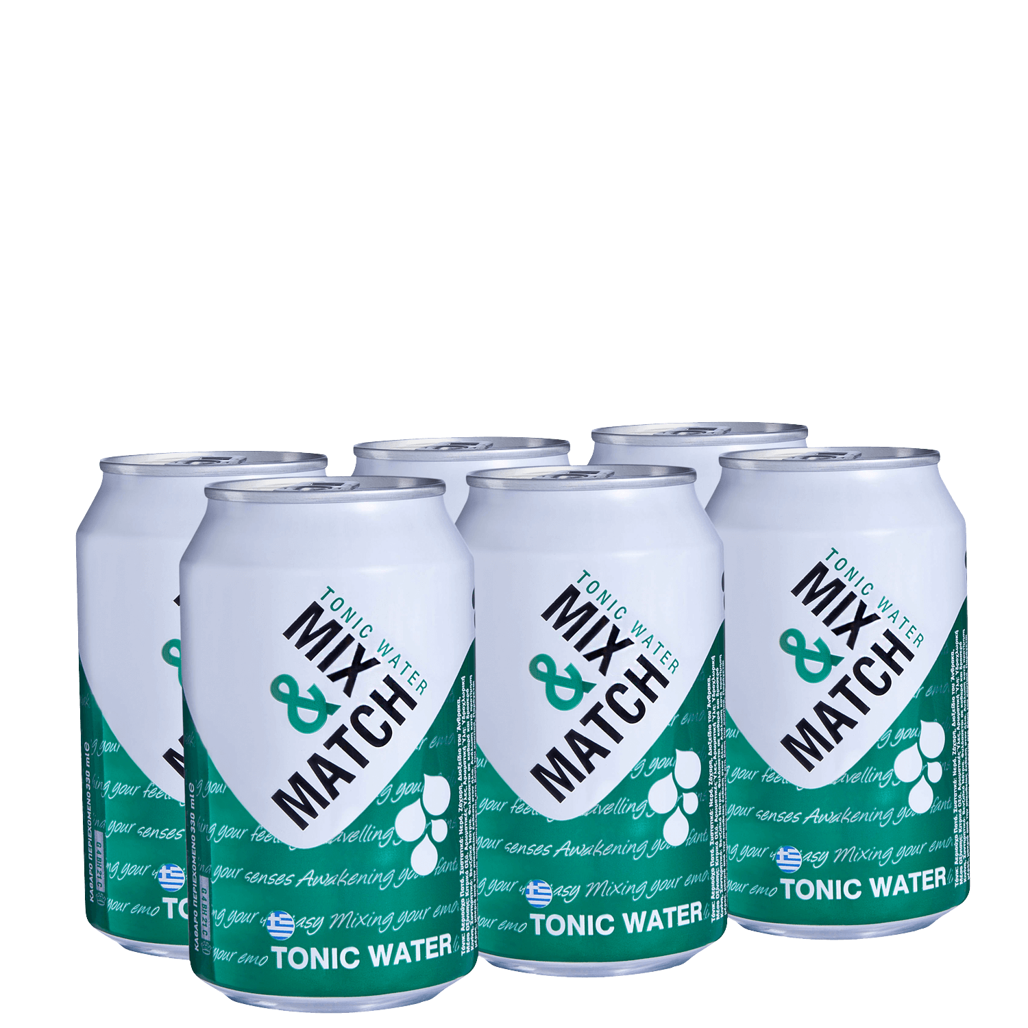 Mix Match Tonic - Multi Pack - (6x330ml cans)