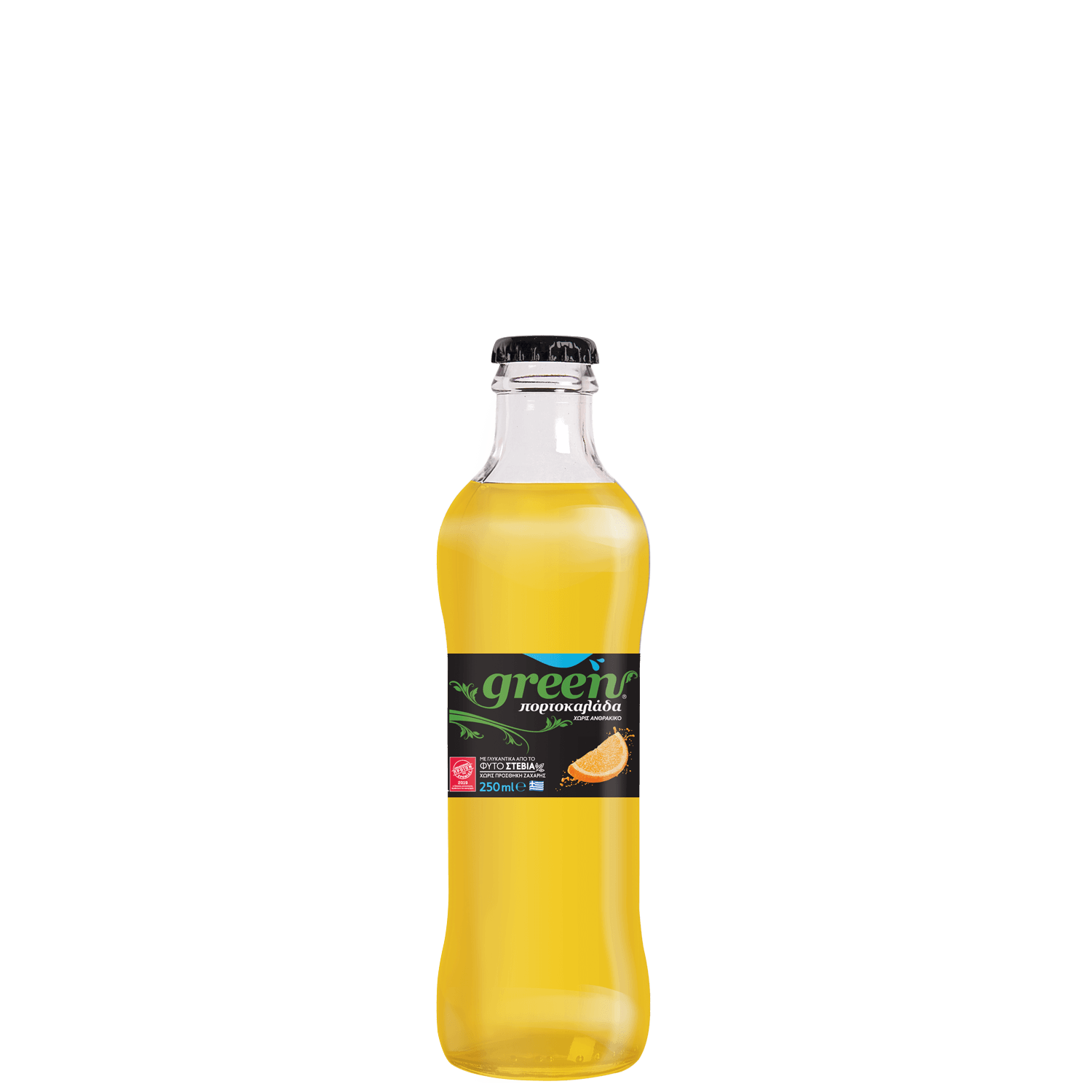 Green Orange Nc - 250ml - Glass Bottle