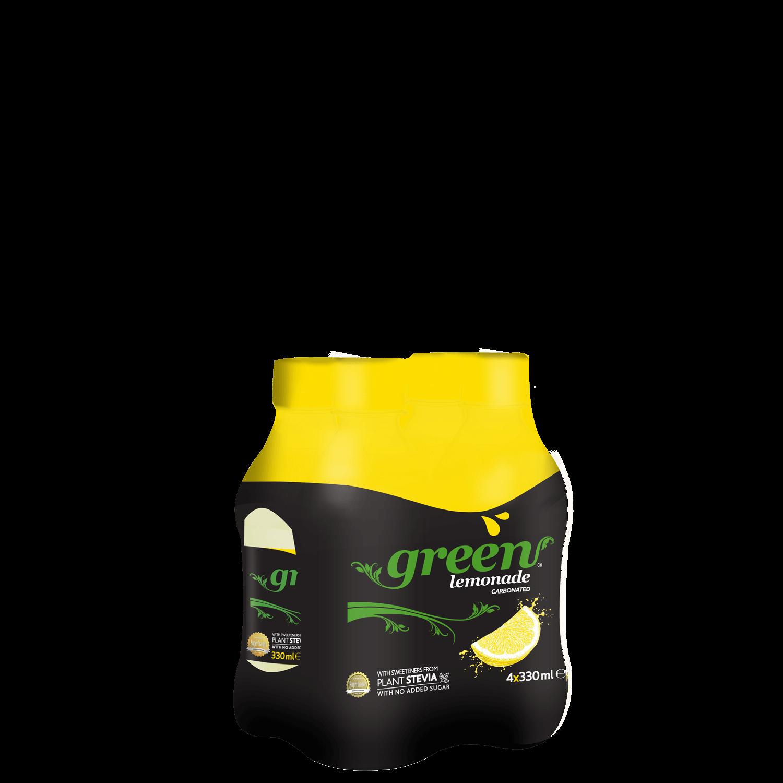 Green Lemon - 4x330ml - Multi Pack PET
