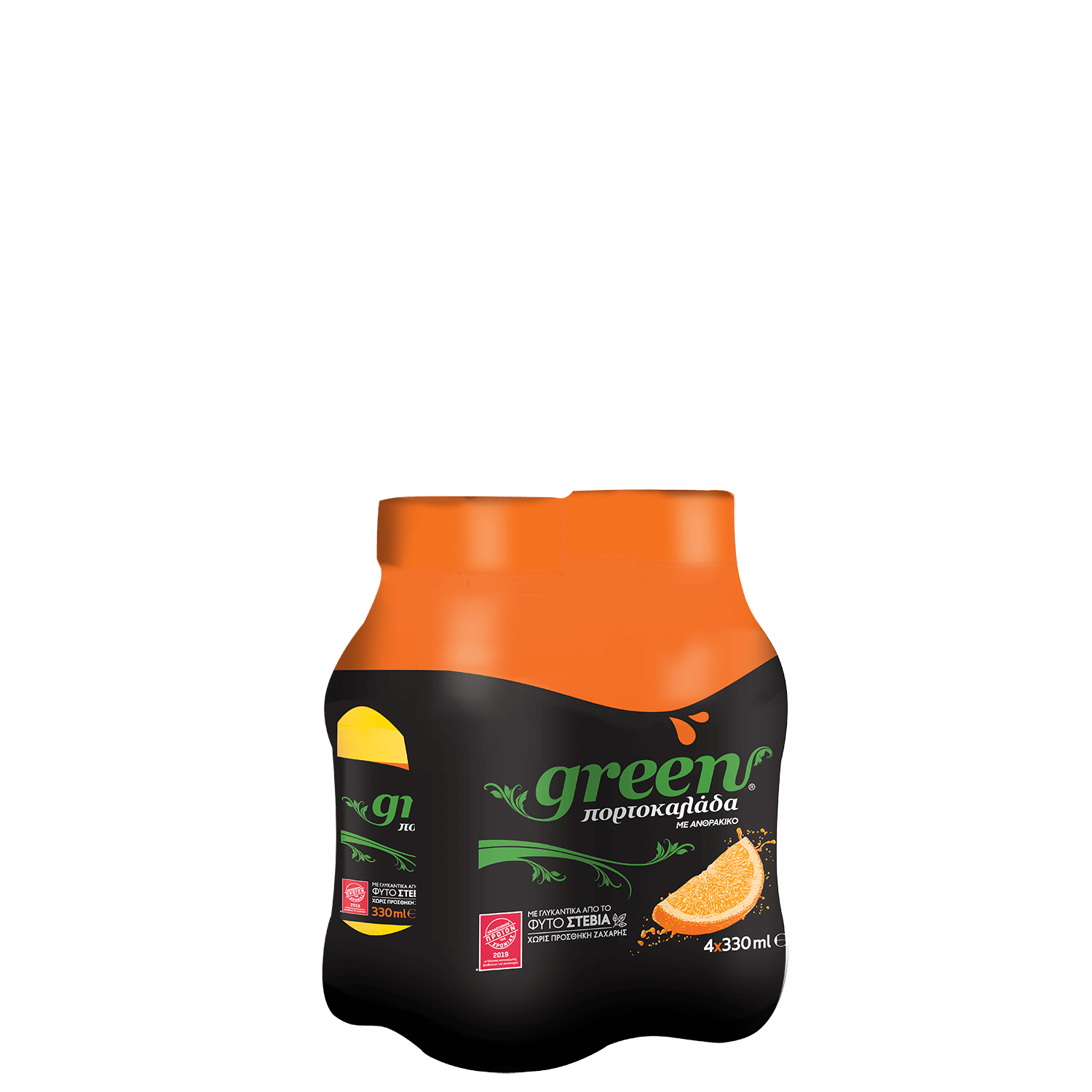 Green Orange - Multi pack PET - 4x330ml